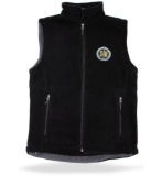 SVRA Black Fleece Vest