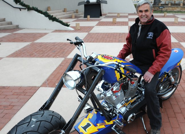 Pro Street Motorcycle constructed for him in 2009 by Racing Innovations of Oklahoma City