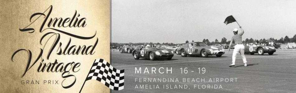 Amelia Island Vintage Gran Prix SVRA - Amelia island classic car show